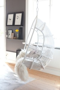 Charming Home Furniture Ideas with Chairs That Hang from ...