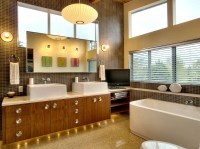 Mid Century Modern Vanity Upgrades Every Bathroom with ...