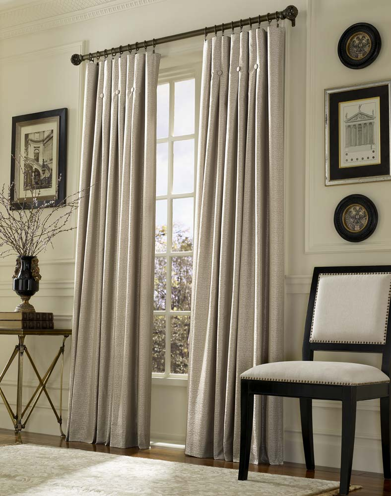 Wohnzimmervorhänge Inverted Pleat Drapes That Will Smarten Your Window