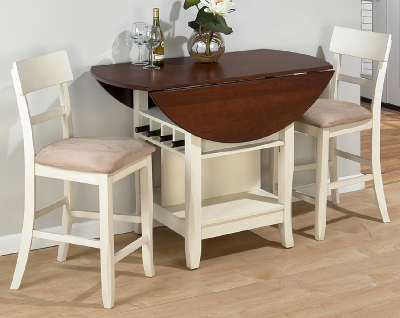 Cheap Kitchen Tables For Small Spaces Compact Dining Space Arrangement With Drop Leaf Dining Table For