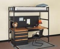 Loft Bed Desk Combo Furniture | HomesFeed