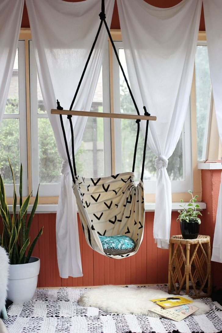 Chairs That Hang From Ceiling Which Will Spoil You with