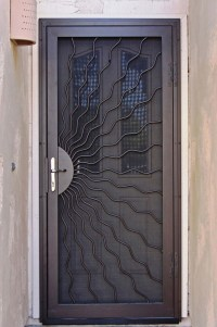 Unique Home Designs Security Doors | HomesFeed