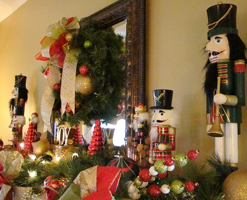 Celebrate the Joyful Christmas Moments in Your Home with Welcoming - christmas decorations for mantels