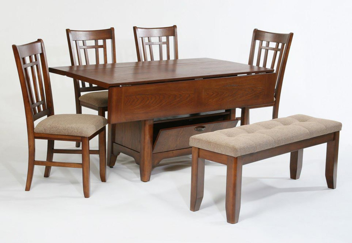 Dining Table Ideas For Small Spaces Compact Dining Space Arrangement With Drop Leaf Dining