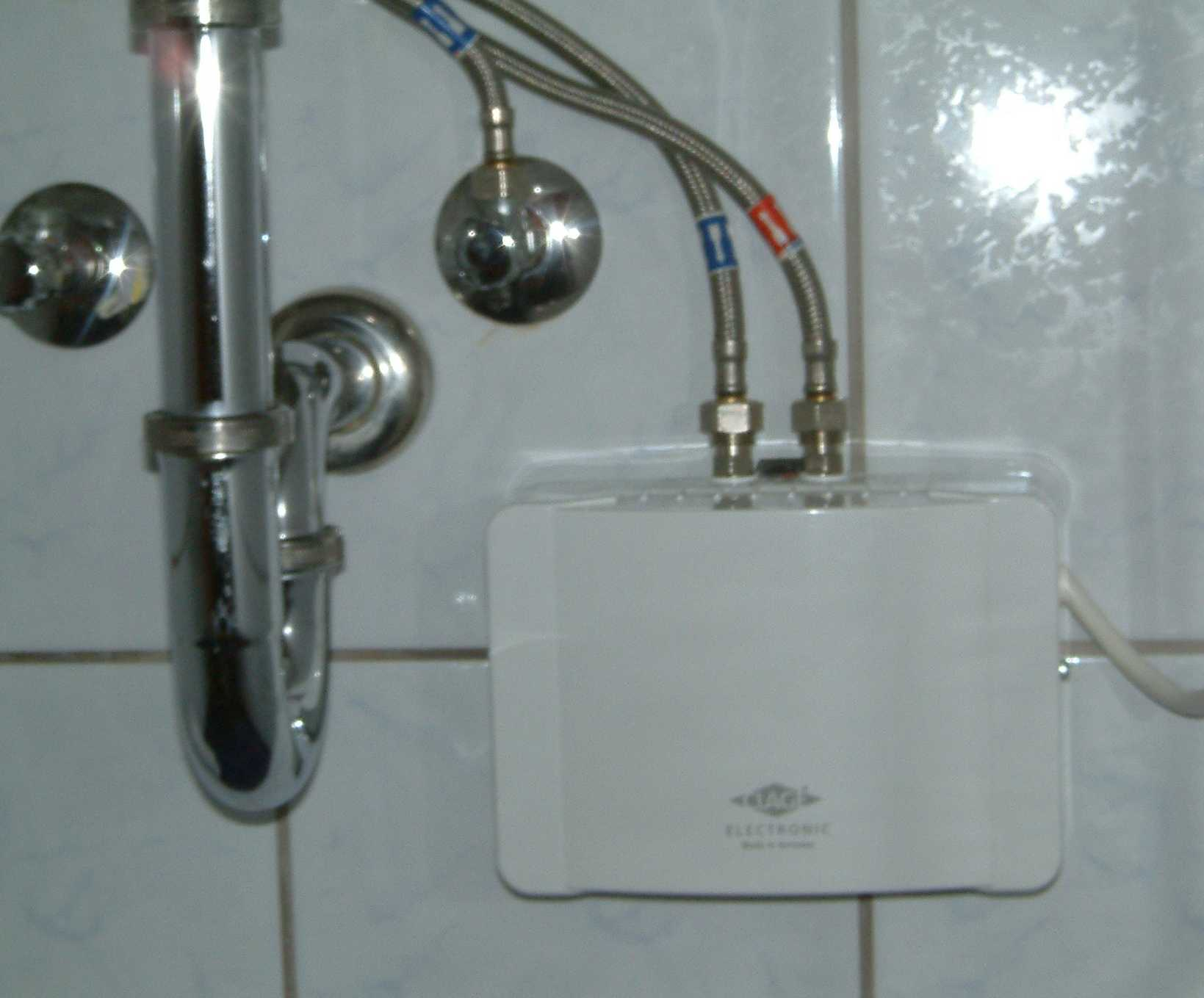 Ikea Badezimmer Installation The Most Simple And Stylish Water Heater In Bathroom That