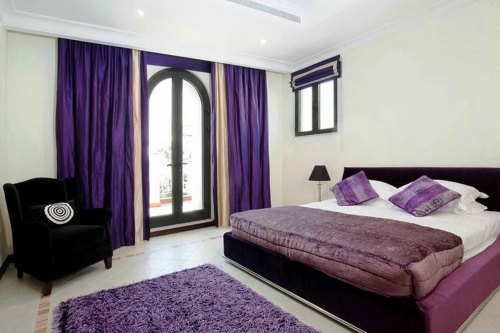 Medium Of Purple Decorations For Bedroom