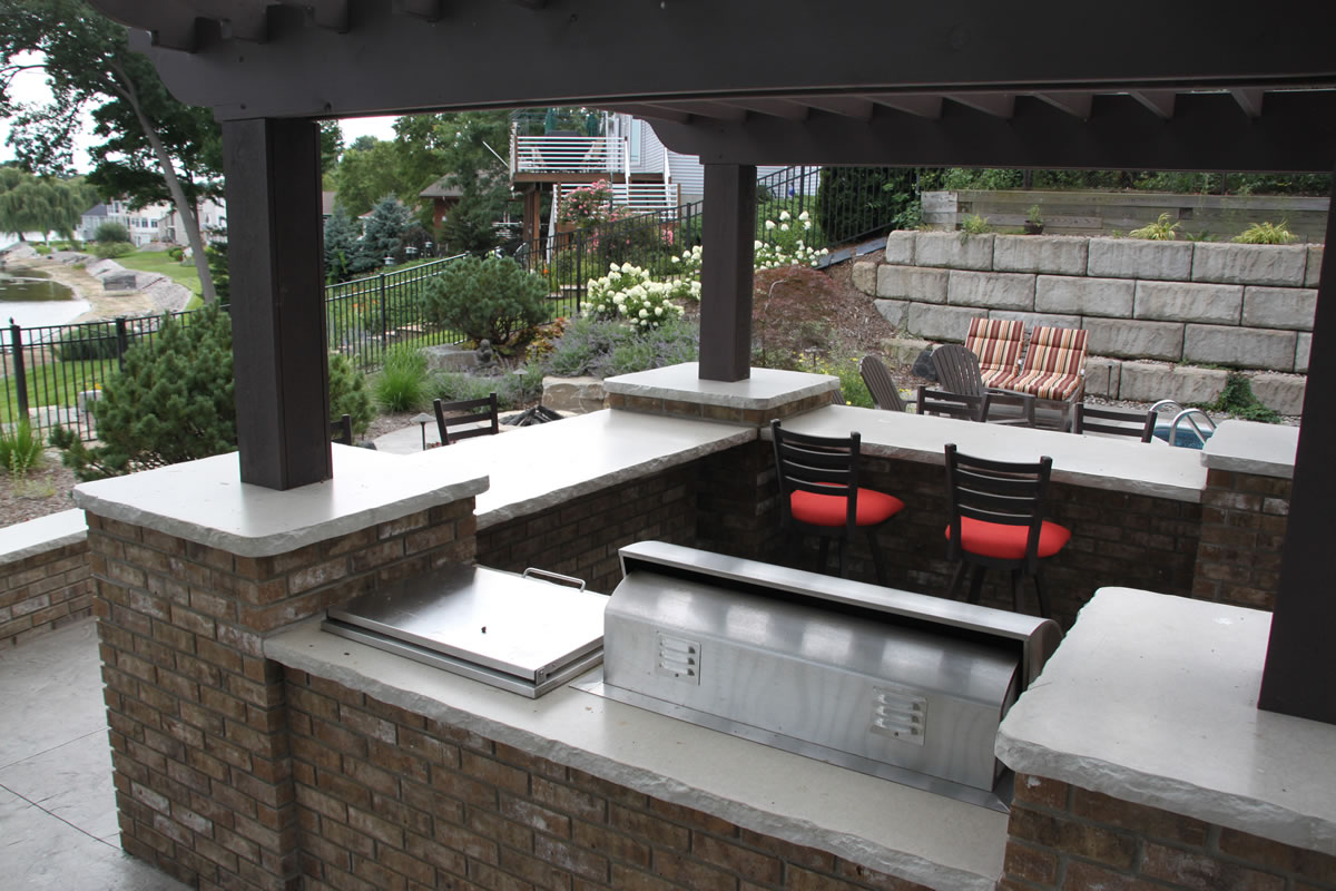 Outdoor Countertops Material Best Outdoor Countertop Ideas Homesfeed