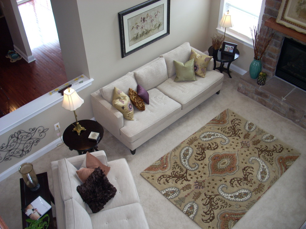 A Rug On Top Of Carpet That Will Give You A Cozy
