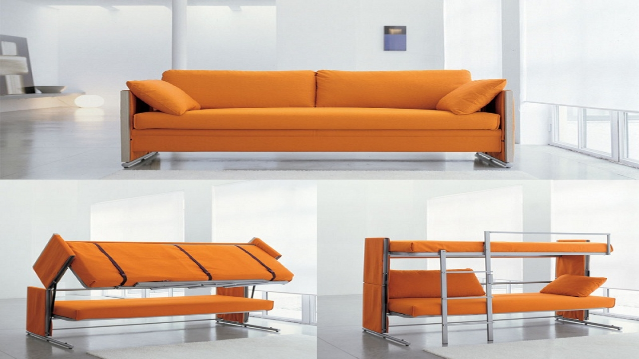 Couch That Turns Into Bed Minimize Your Interior With Couch That Turn Into Bed For