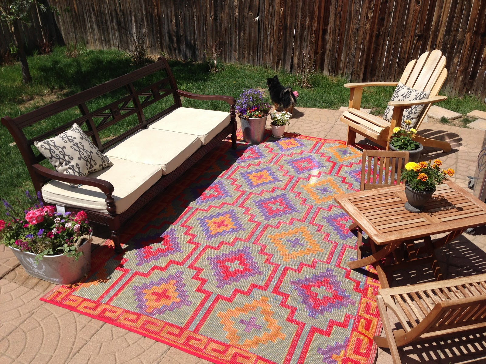 Tapis Exterieur Fab Habitat Recycled Plastic Outdoor Rugs Environmentally Friendly