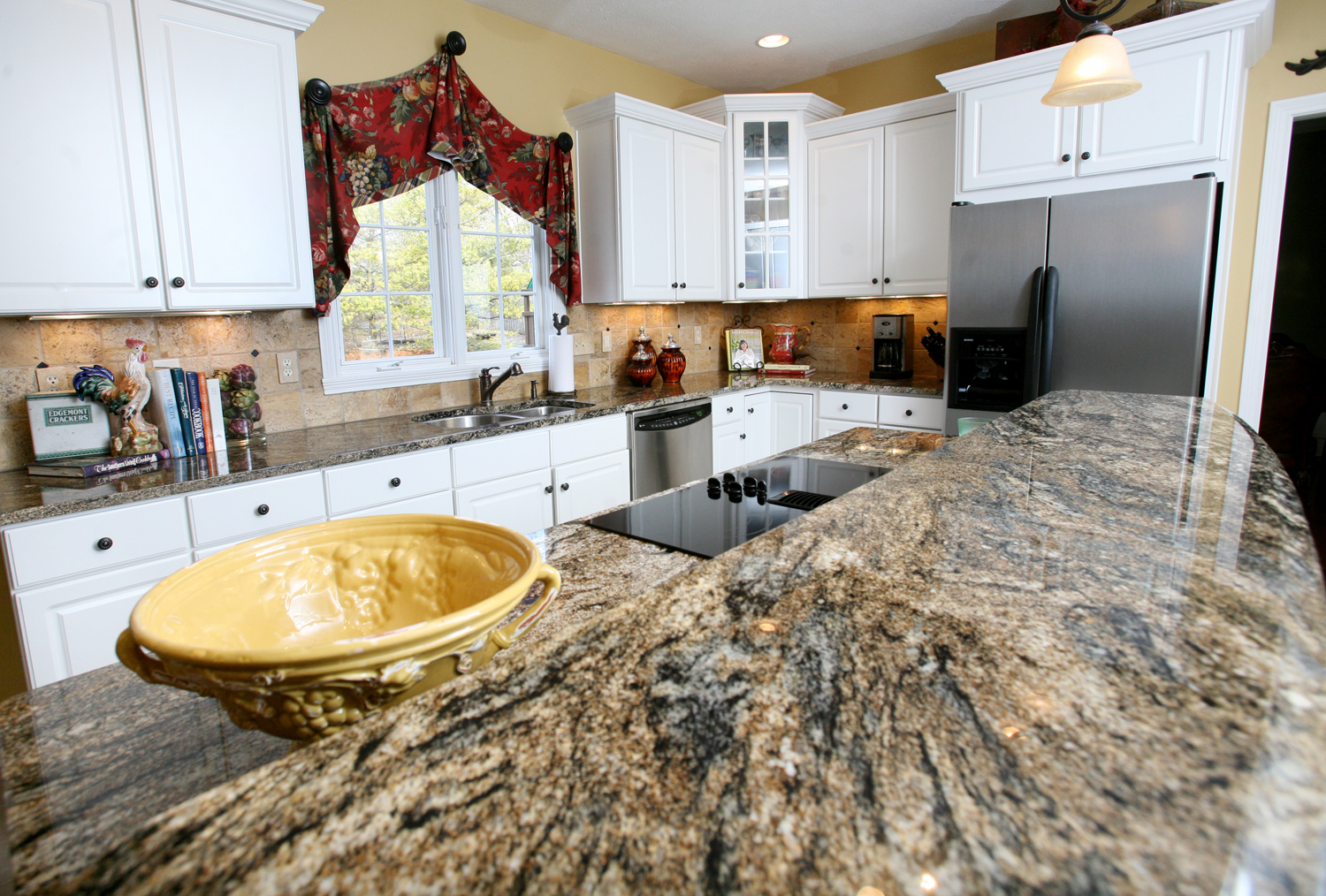 Gorgeous Inspiring Images Of Granite Countertops Homesfeed