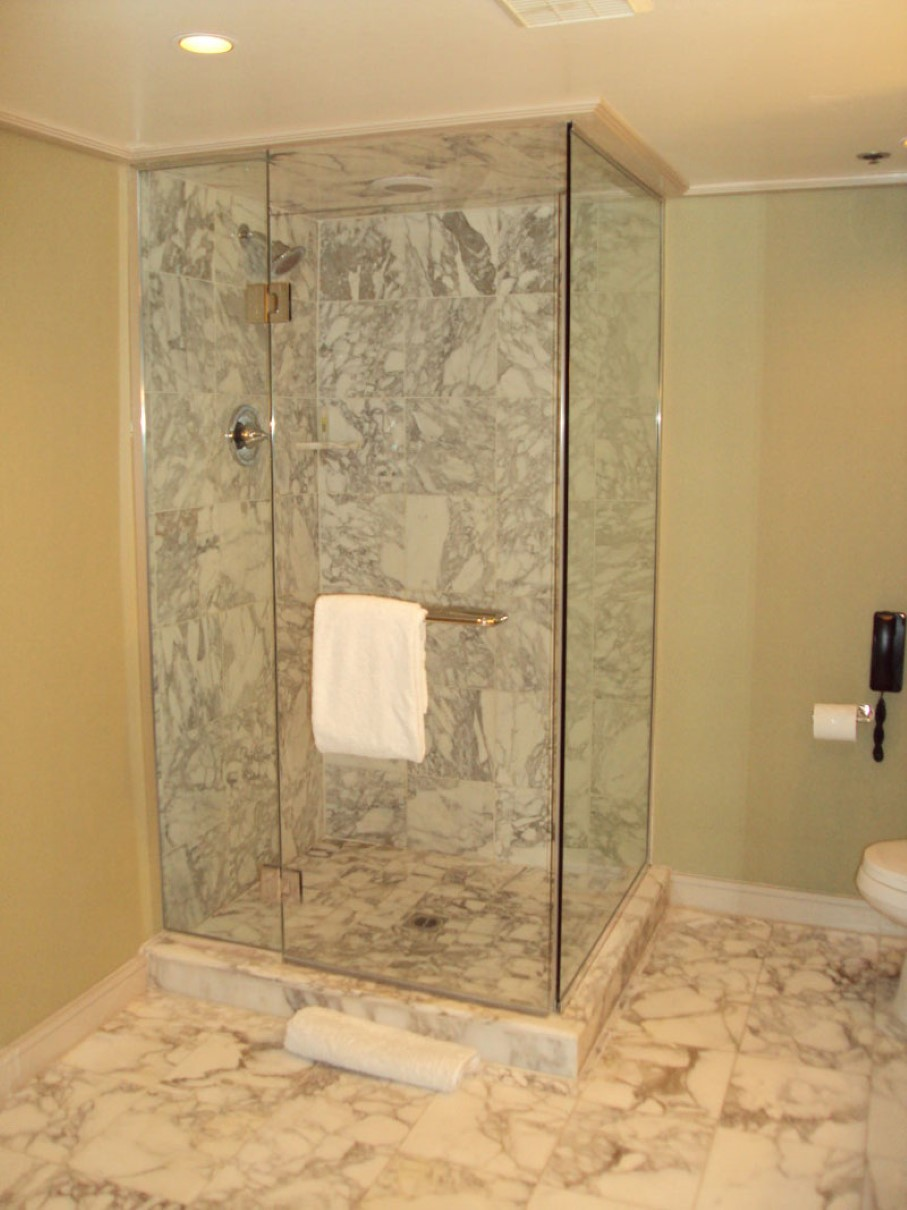 Stone Shower Walls An Instant Trick To Transform A Flat Shower Into A Spa Look Like One