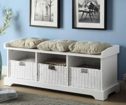 Small Of White Storage Bench