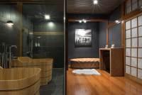 Bamboo Flooring in Bathroom | HomesFeed