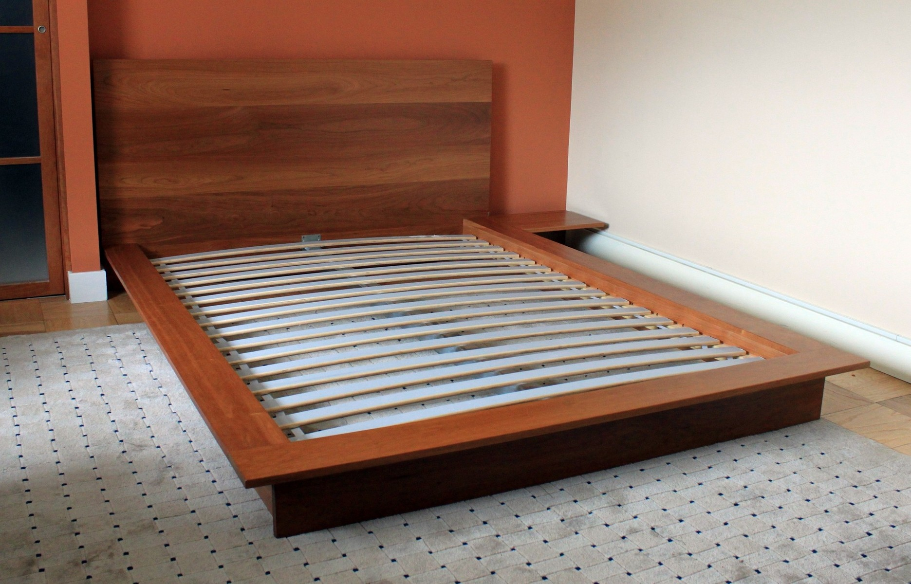 Diy Platform Bed Base Low Profile Bed Frame Queen Homesfeed