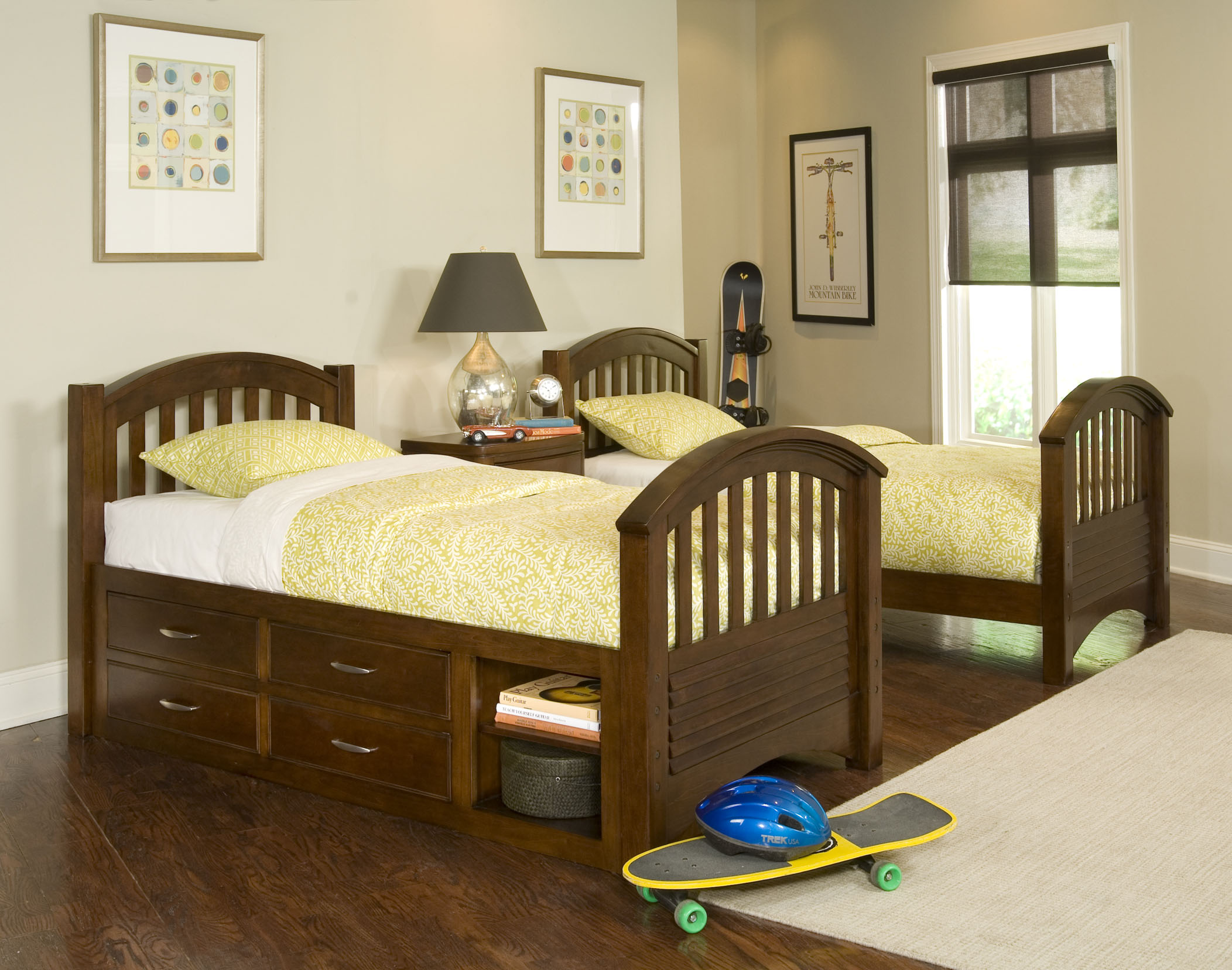 Childrens Beds With Storage Kids Twin Beds With Storage
