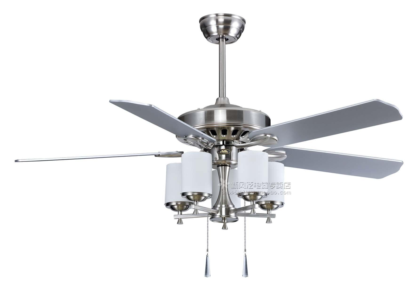 Contemporary Ceiling Fans with Light