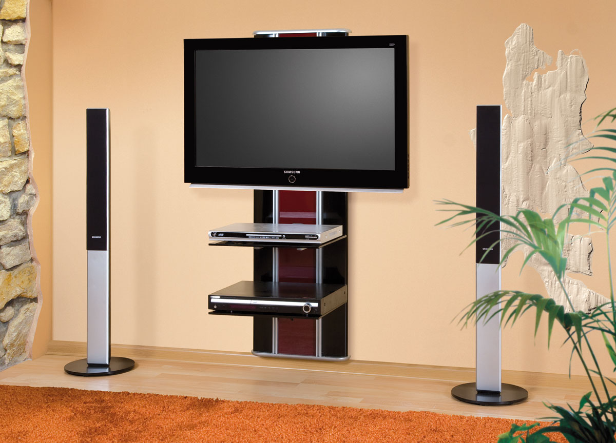 Tv Wall Cabinets For Flat Screens Flat Screen Tv Wall Cabinets Offering Space Saving