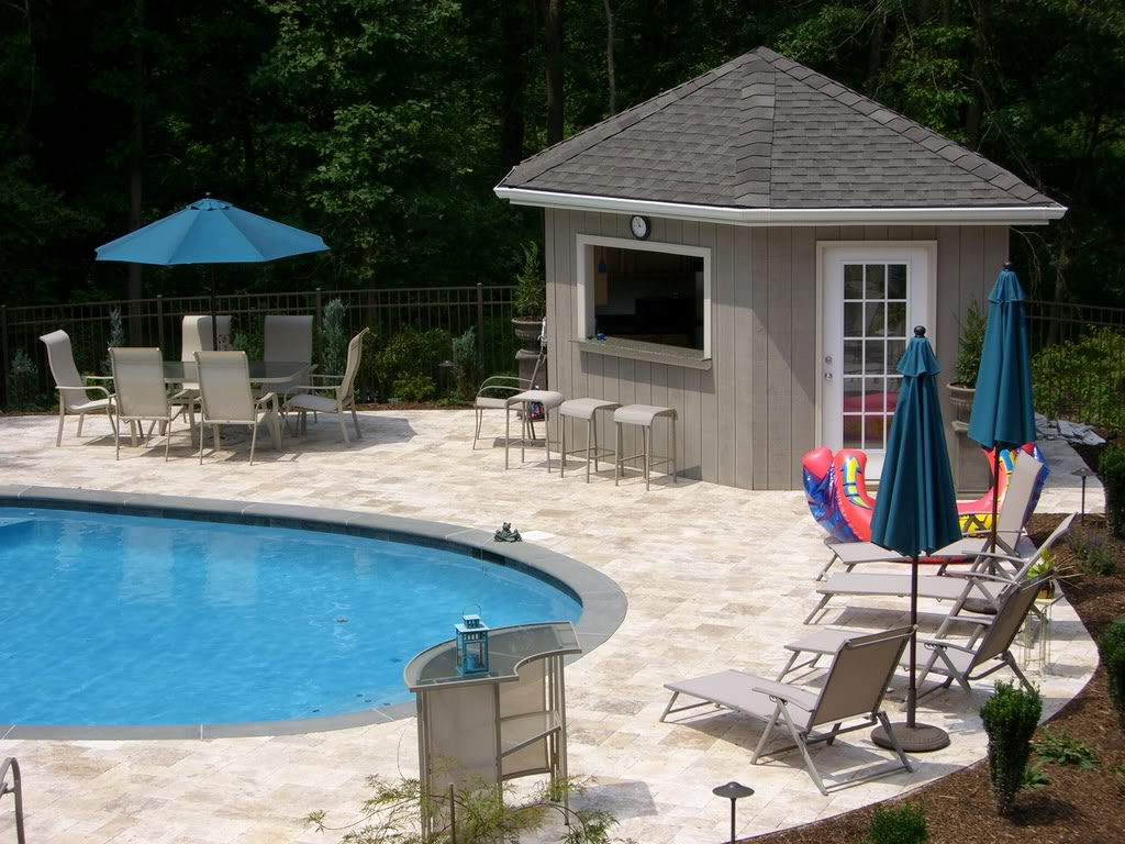 Pool House Plans Pool Cabana Plans That Are Perfect For Relaxing And