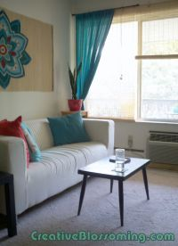Turquoise Living Room Design | HomesFeed