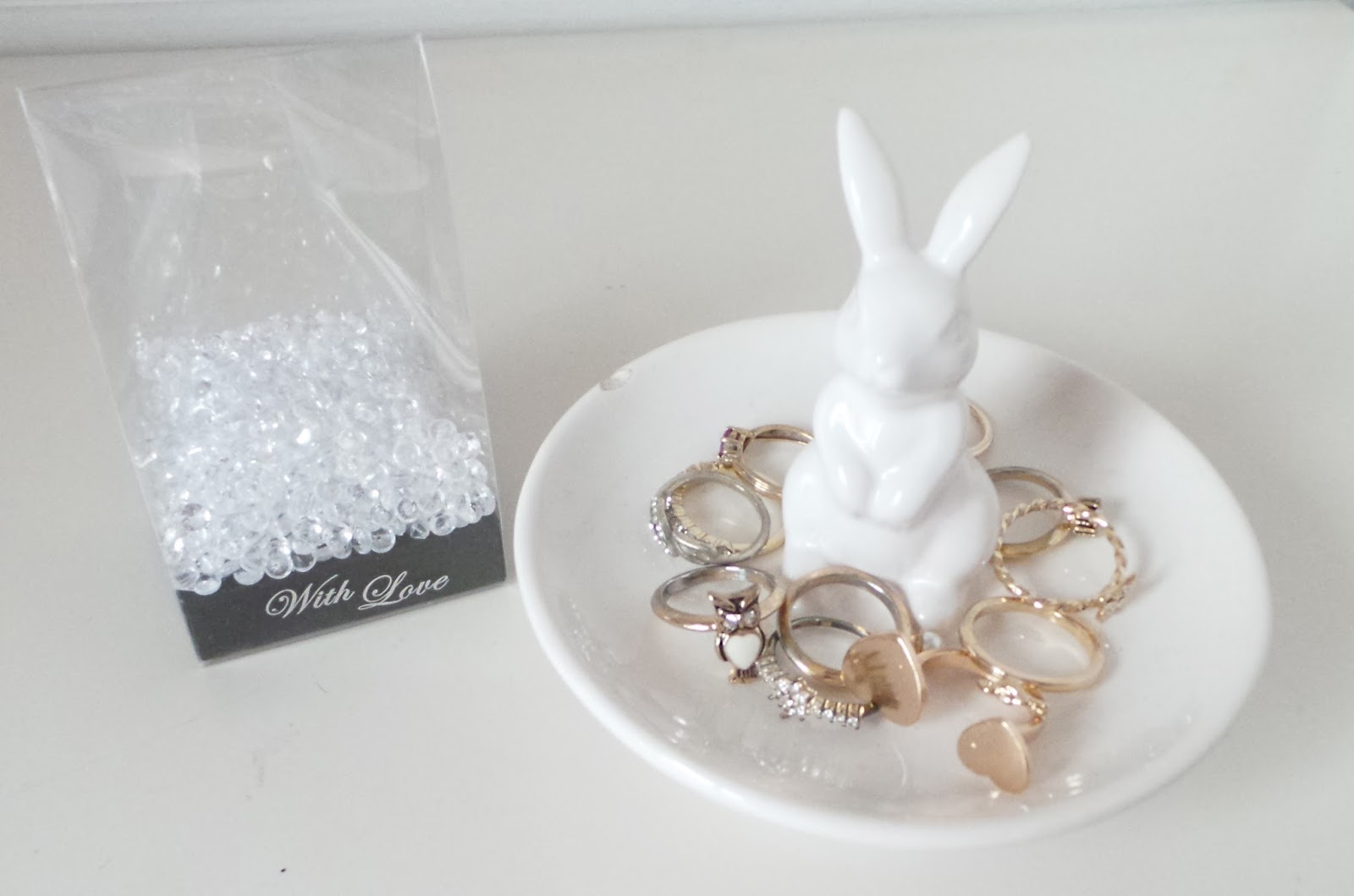 Bunny Ring Holder  Best Present for Your Sweet One