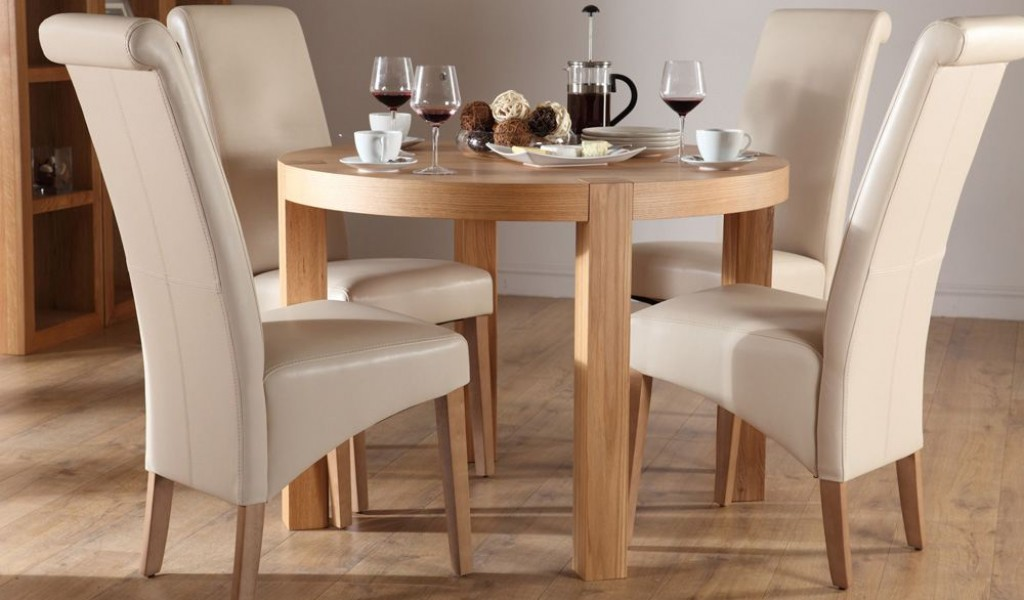 Round Kitchen Table Set For 4 A Complete Design For Small