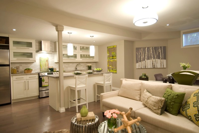 Large Of Kitchen Living Room Combos