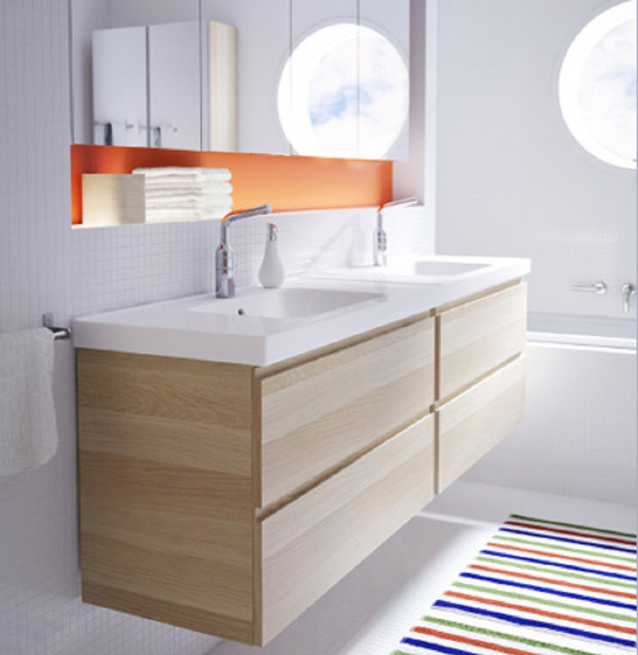 Decoration Artistic White Wooden Ikea Bathroom Wall Cabinets For Ikea Bath Cabinet Invades Every Bathroom With Dignity