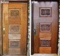 Step by Step to Do-it-Yourself Refinish Front Door   HomesFeed