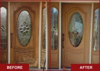 Step by Step to Do-it-Yourself Refinish Front Door | HomesFeed