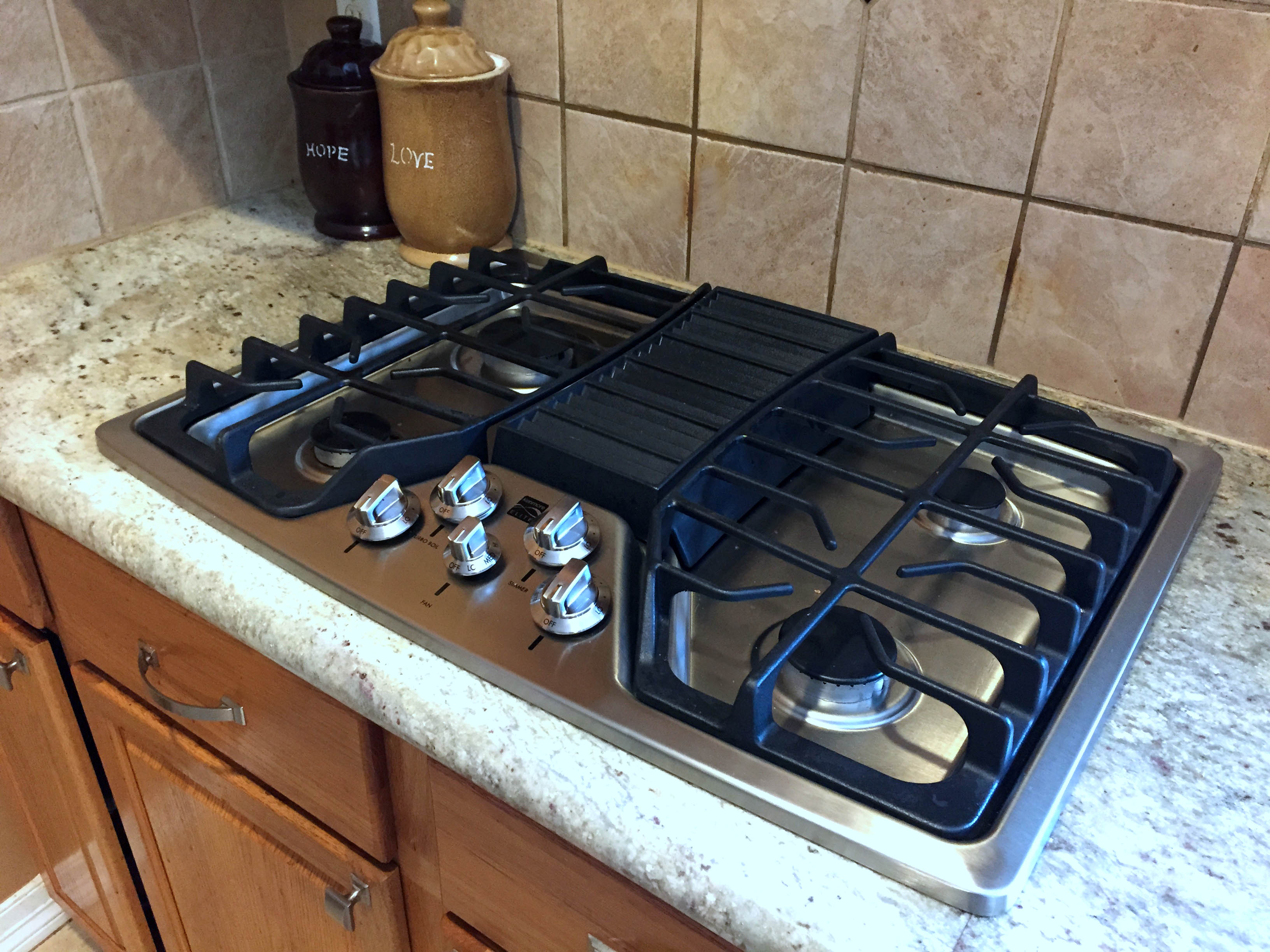 Cooktop Gas Stoves Simple Ideas About 30 Gas Cooktop With Downdraft Homesfeed