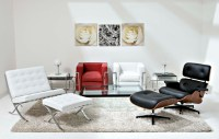 Black And White Living Room Chairs