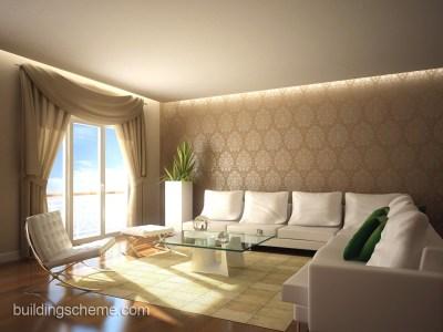 Surprising Wallpaper Design for Living Room | HomesFeed