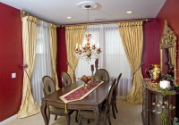 Window Treatments for Dining Room Ideas