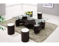 Coffee Table with Stools Invites More Friends to Hang Out ...