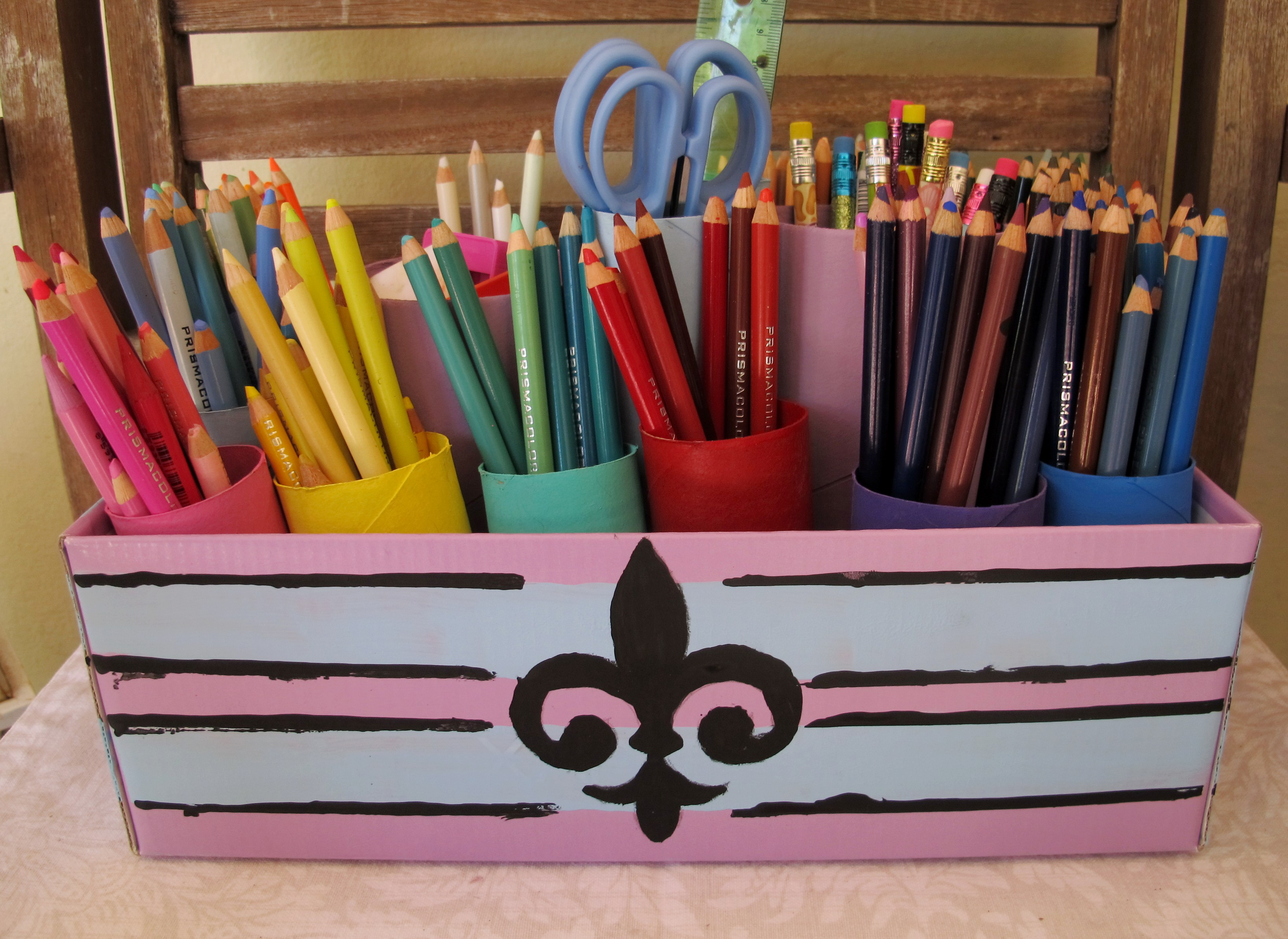 Homemade Pencil Holders Colored Pencil Holder Symbolizes Playfulness In Mini Stuff