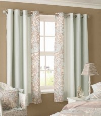 Adorn Your Interior with White Patterned Curtains