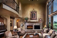 Living Room Spanish Style Design | HomesFeed