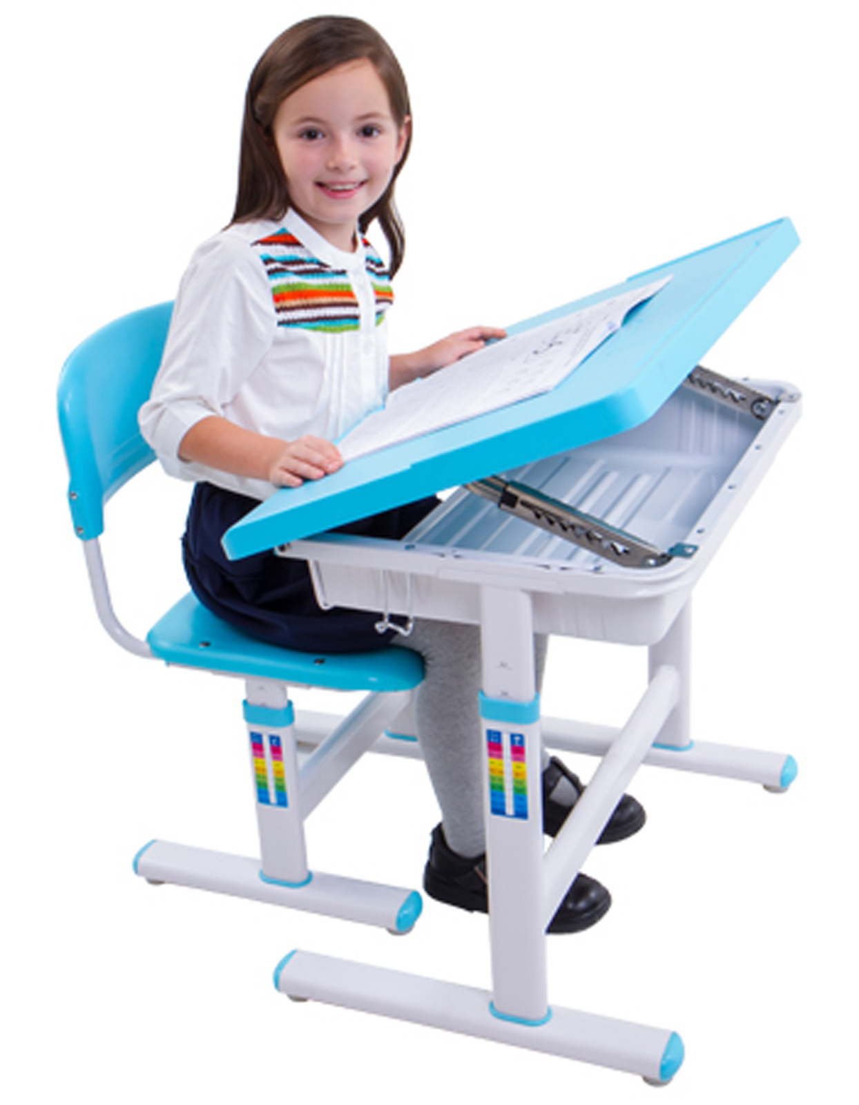 Childrens Desk Chair Kid Desk With Chair Design | Homesfeed