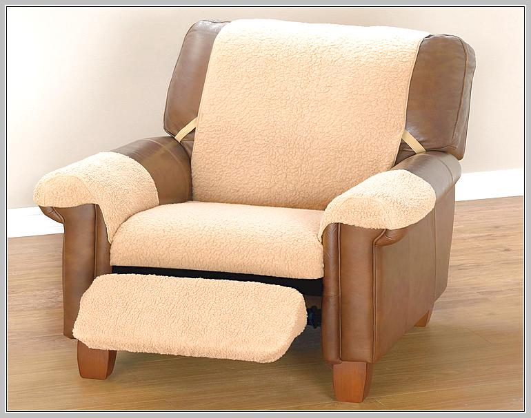 Leather Recliner Slipcover Jersey Stretch Large Recliner