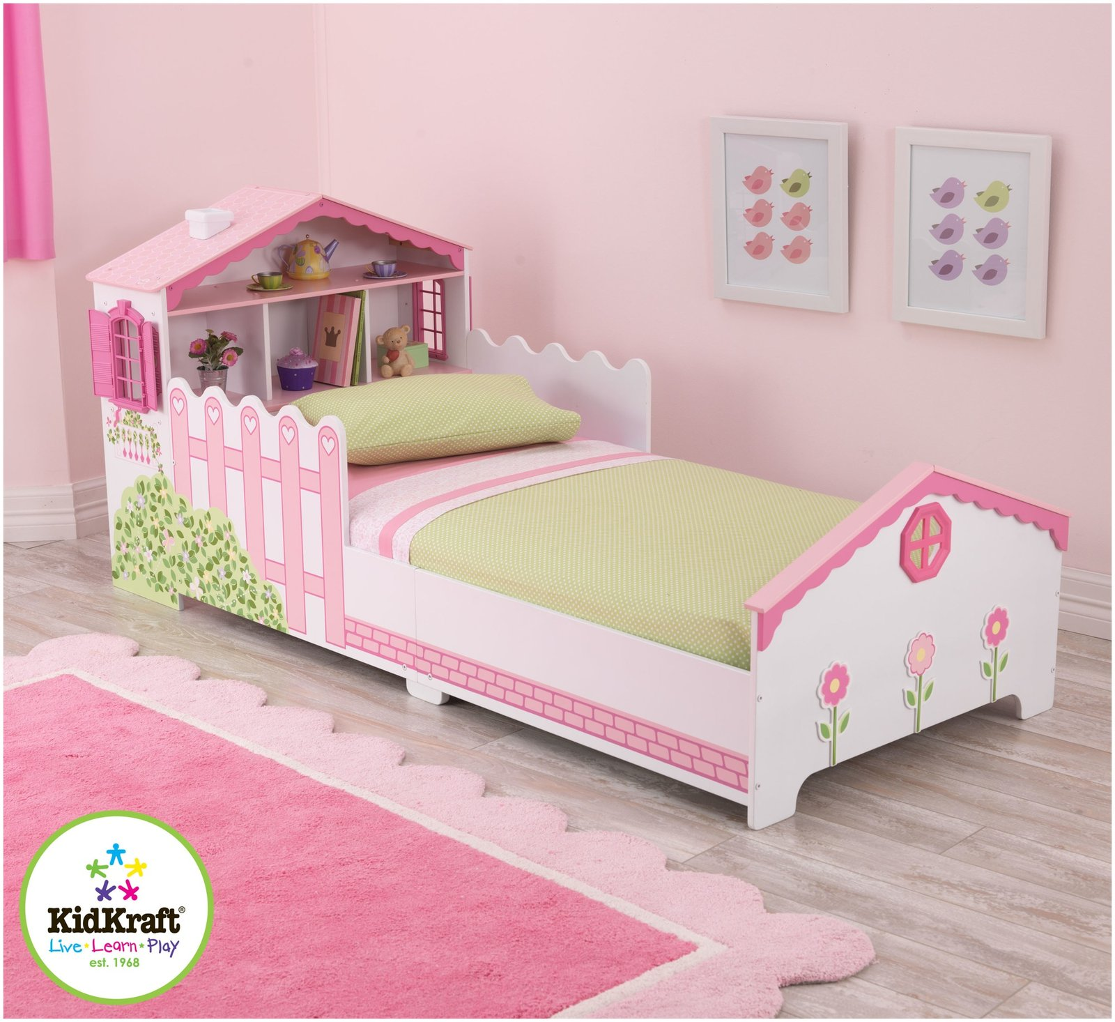 Toddler Bed For Girl Contemporary Toddler Bed By Kidkraft Homesfeed