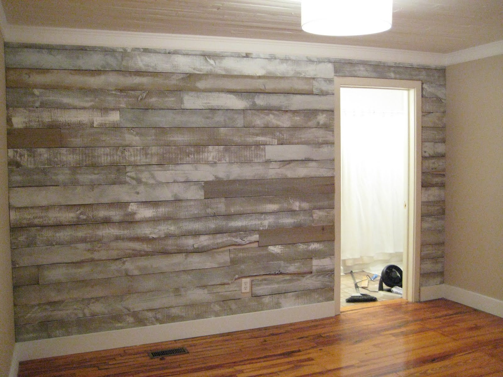 Wall With Wood Wood Wall Covering Ideas Homesfeed