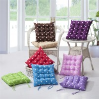 Kitchen Chair Cushions with Ties | HomesFeed