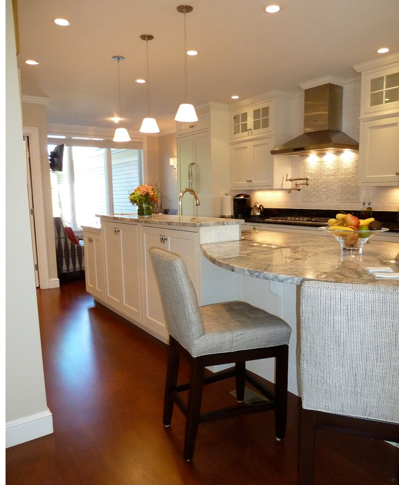 Large Of Modern Kitchen Island Table