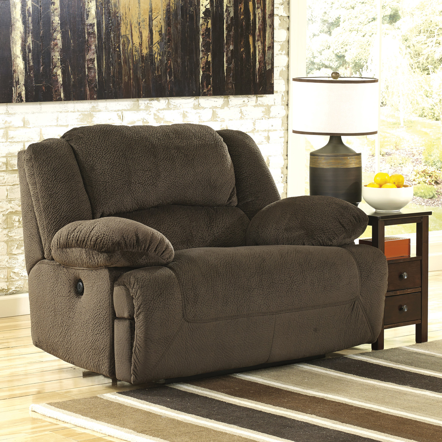 Big Sofa Chair Oversized Reclining Sofa Damacio Oversized Recliner Ashley