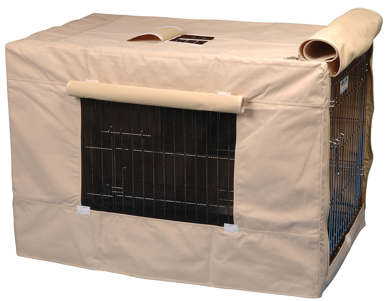 Enamour Dog Crate Pet Crate Design Selections Homesfeed Dog Crate Covers Ireland Dog Crate Covers Wood Light Brown Fabric Cover bark post Dog Crate Covers