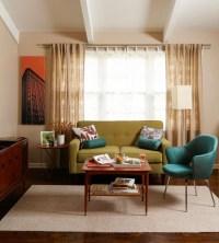 Mid Century Modern Curtains | HomesFeed