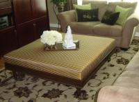 Contemporary Ottoman Coffee Table