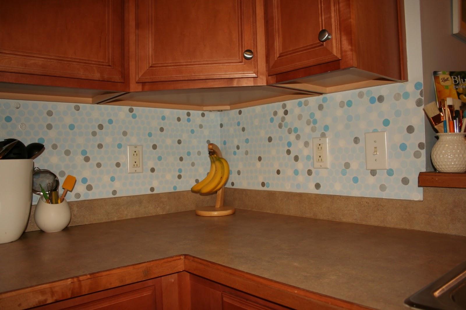 Vinyl Kitchen Backsplash Vinyl Wallpaper For Kitchen Backsplash